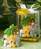 Jungle Critters Candle Favour